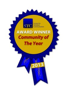 STC 2013 Community of the Year