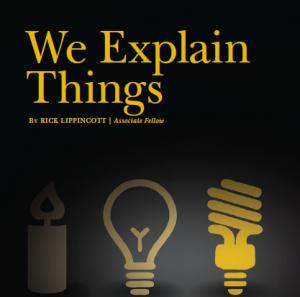 We explain things