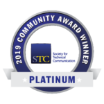 2019 Platinum Community Acheivement Award