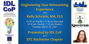 Engineering Your Networking Experience Kelly Schrank