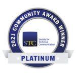 2021 STC Platinum Community Achievement Award